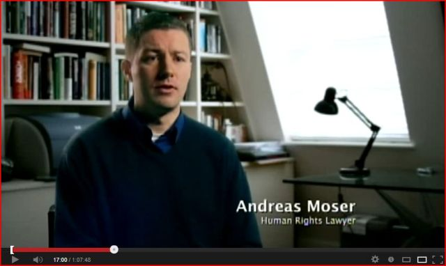 Andreas Moser human rights lawyer