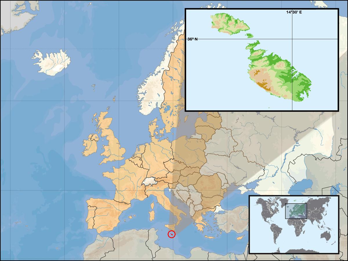 is malta in europe
