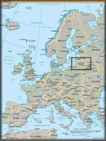 Where Is Lithuania The Happy Hermit