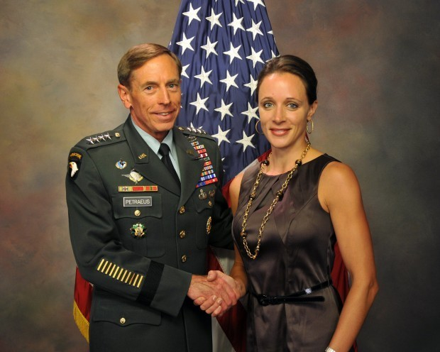 Journalist writing about petraeus girlfriend