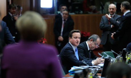 David-Cameron-at-EU-summit-isolated