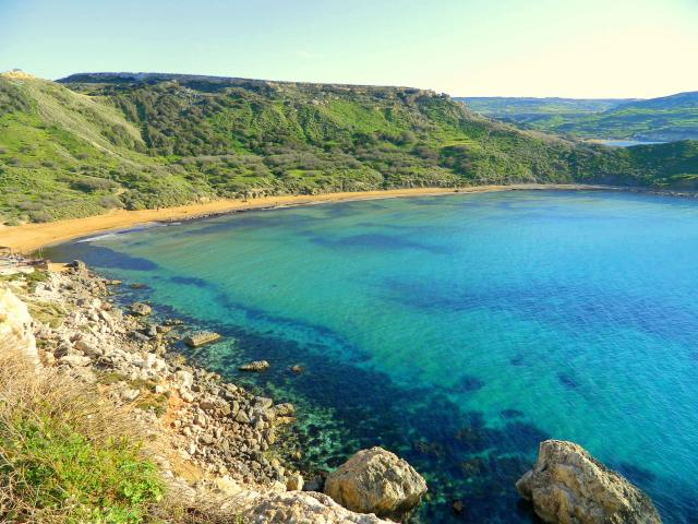 Għajn Tuffieħa Bay Malta