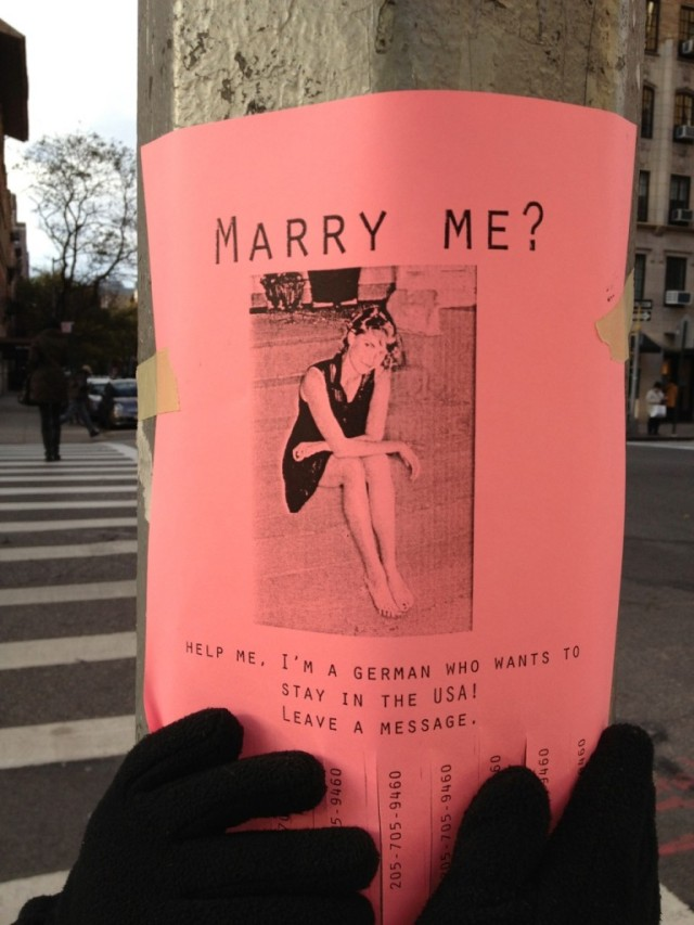 German girl looking to get married in USA