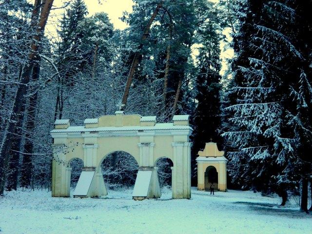 Winter Vilnius Kreuzweg