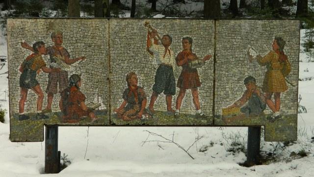 Grutas Park mosaic pioneers