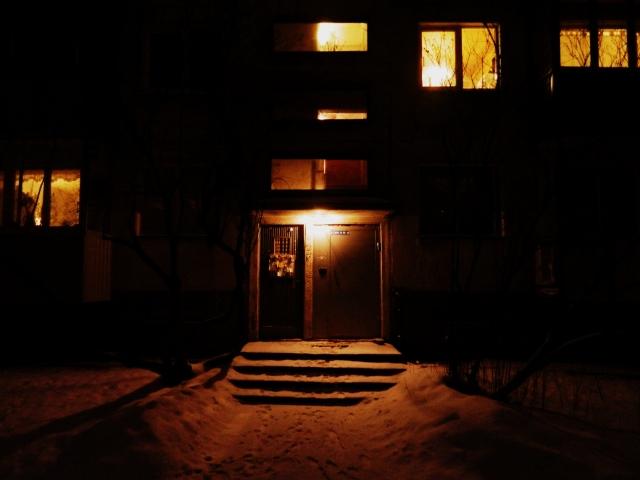 Krushchovka entrance