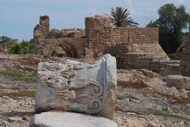 Caesarea excavations
