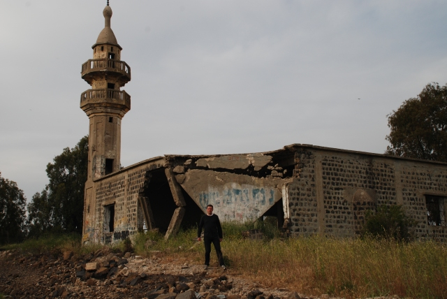 Golan destroyed building