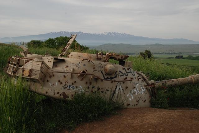Golan tank