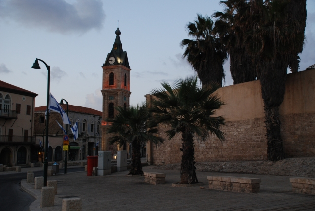 Jaffa clocktower
