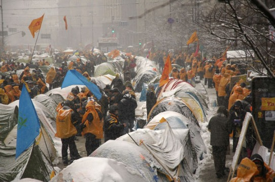 Orange revolution Ukraine