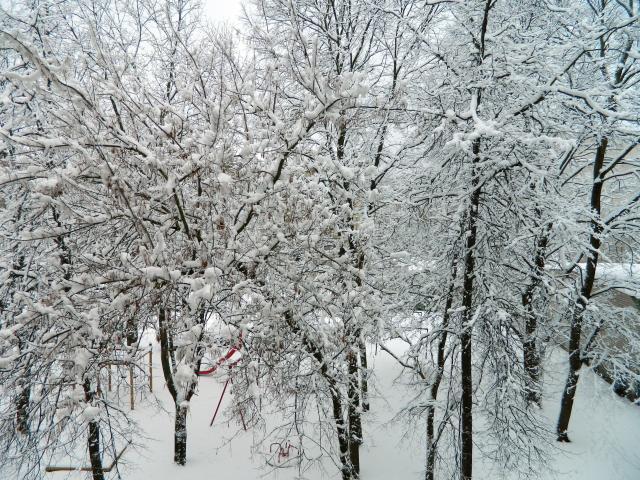 winter Vilnius 1 April 2013