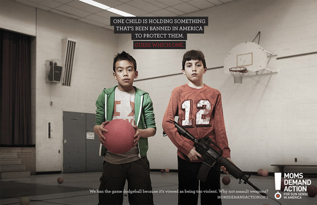 child safety guns dodgeball