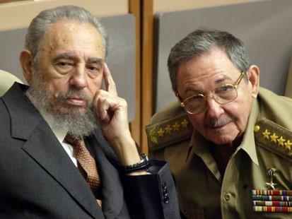 Fidel and Raul Castro, dictators