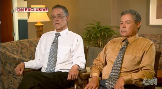 Onil and Pedro Castro, brothers of Ariel Castro