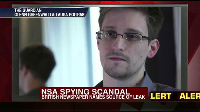 Edward Snowden whistleblower NSA PRISM