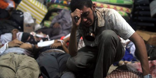 Egypt-protester-among-dead-and-wounded
