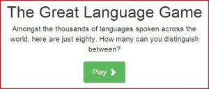 Great Language Game