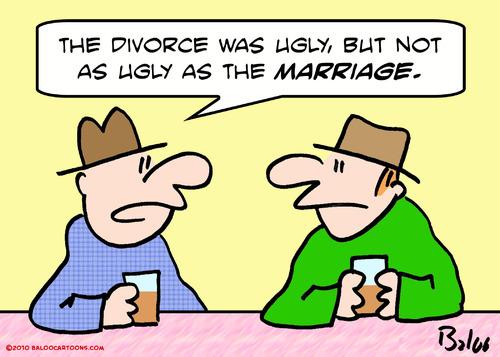 divorce cartoon