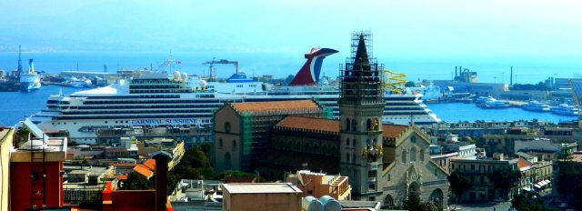 cruise ship cathedral Messina