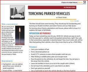 AQ torching cars