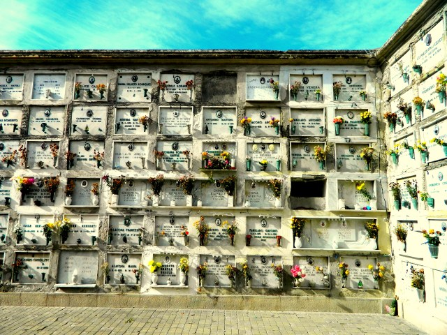 cemetery Lipari