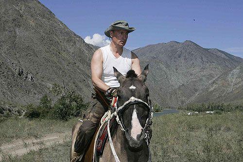 Putin cowboy