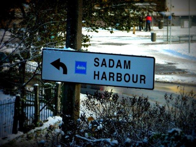Sadam Harbour Tallinn