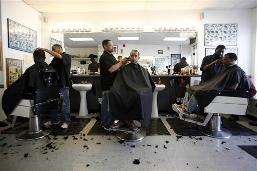 black barber shop
