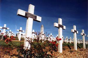 Verdun military cemetery