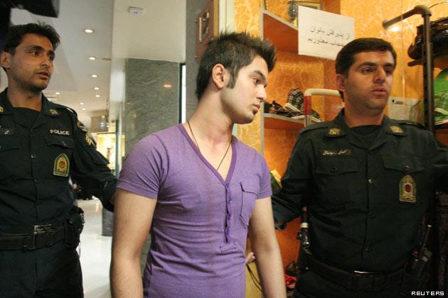 fashion police Iran