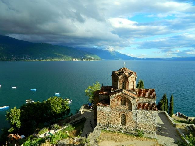 dark clouds Sveto Jovan Ohrid 1