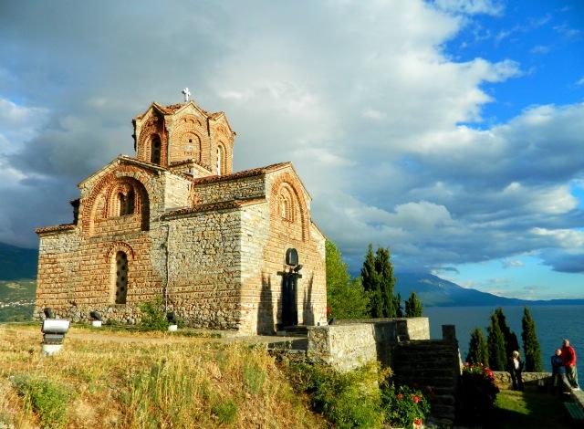 dark clouds Sveto Jovan Ohrid 3