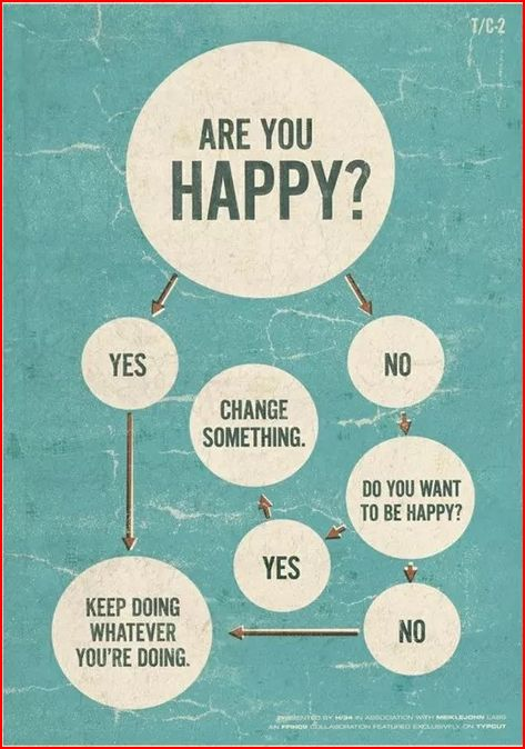 happy change flowchart snip