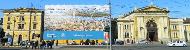 Belgrade Waterfront train station