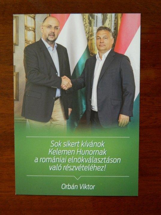 postcard Viktor Orbán