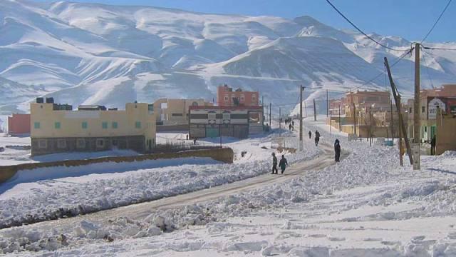 Imilchil snow
