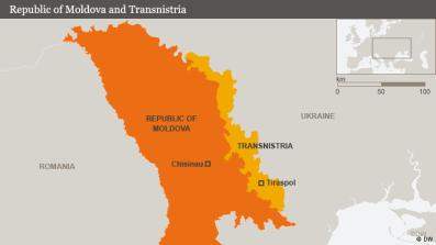 map Transnistria