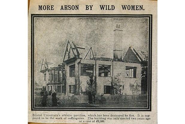 arson wild women