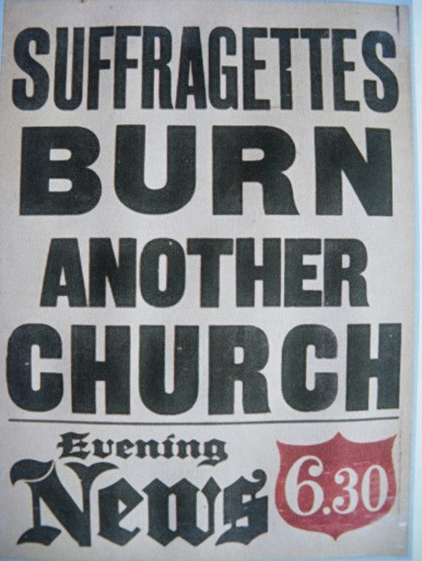 burn church