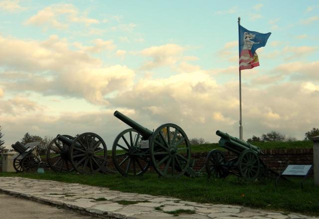 cannons Kalemegdan