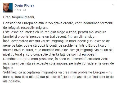 Dorin Florea refugees