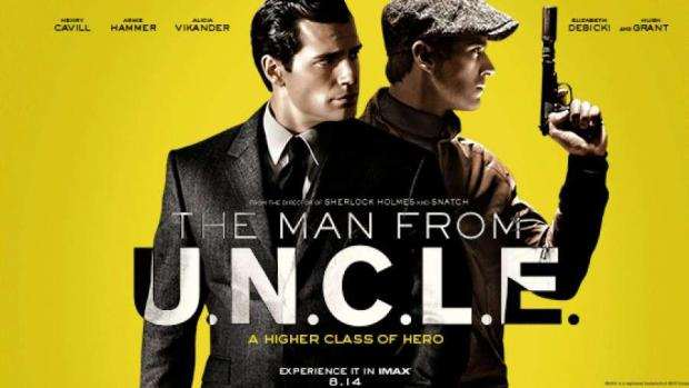 Even though the grab of The Man from U.N.C.L.E is lower in resolution, you  can still see that it is very sharp. Did they increase sharpness in post.