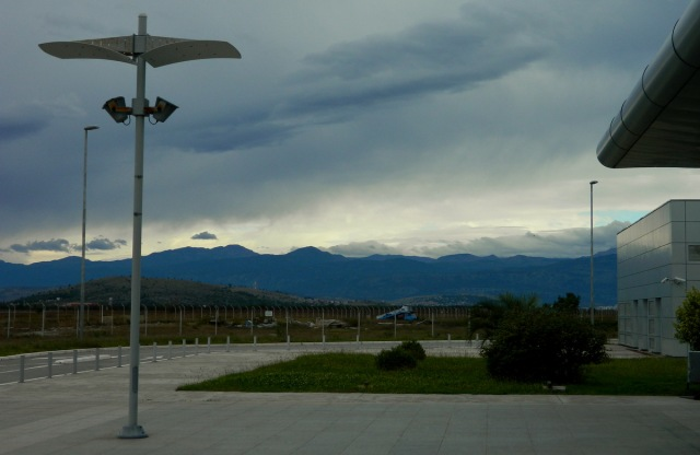 mountains airport Podgorica