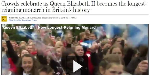 Queen Elizabeth 63 years