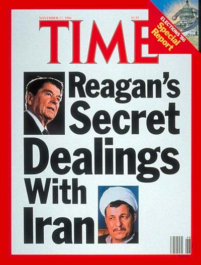Reagan secret deals Iran