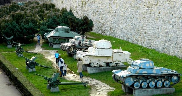 tanks Kalemegdan