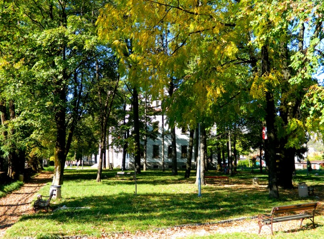 Austrian embassy park