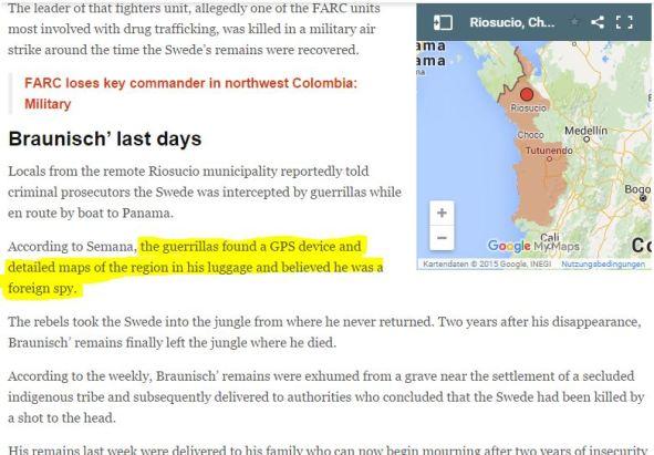 Braunisch FARC