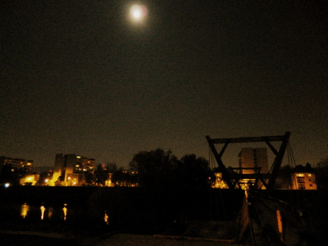 bridge moon